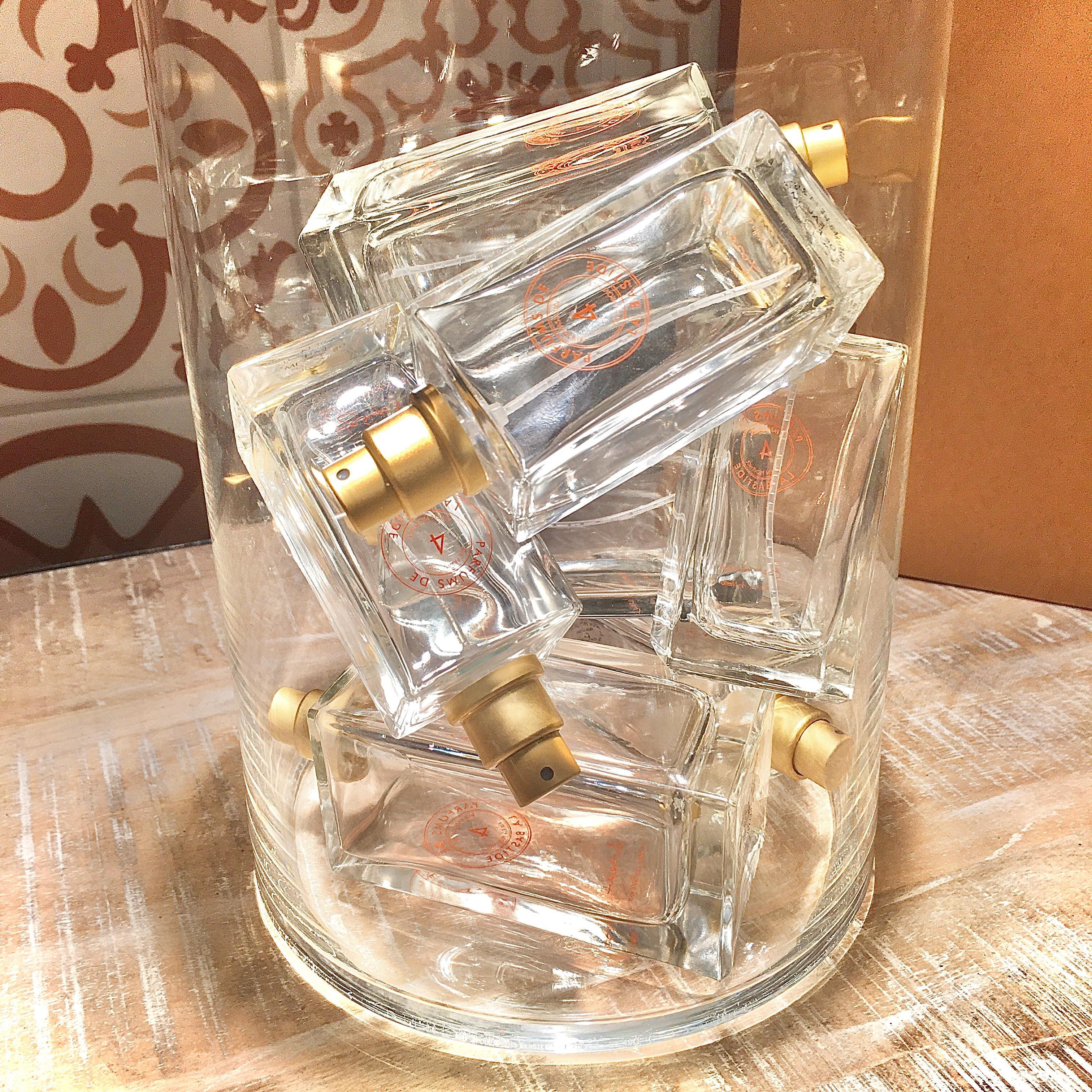 recyclage parfums de la bastide